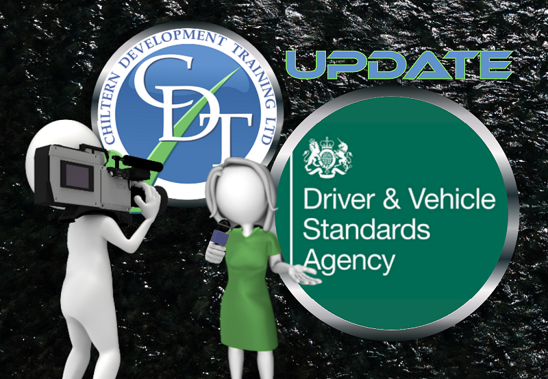 Positive news report from DVSA